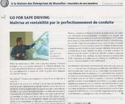 Go For Safe Driving (GFSD)- La press en parle 2004