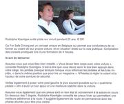 Go For Safe Driving (GFSD)- La press en parle 2011