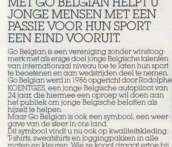 Go For Safe Driving  - Go belgian